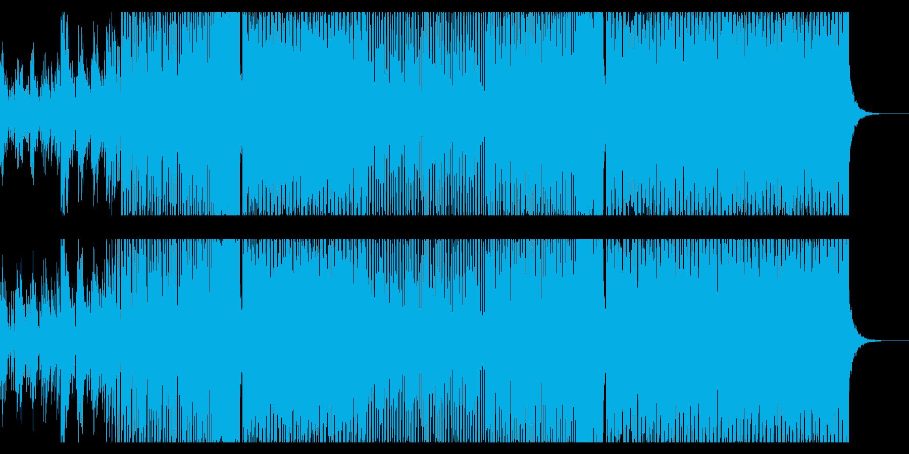 おしゃれなイメージのDancemusicの再生済みの波形