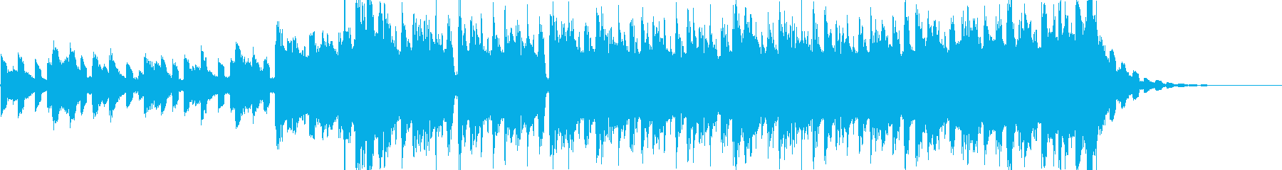 EDMショーリール向けの再生済みの波形