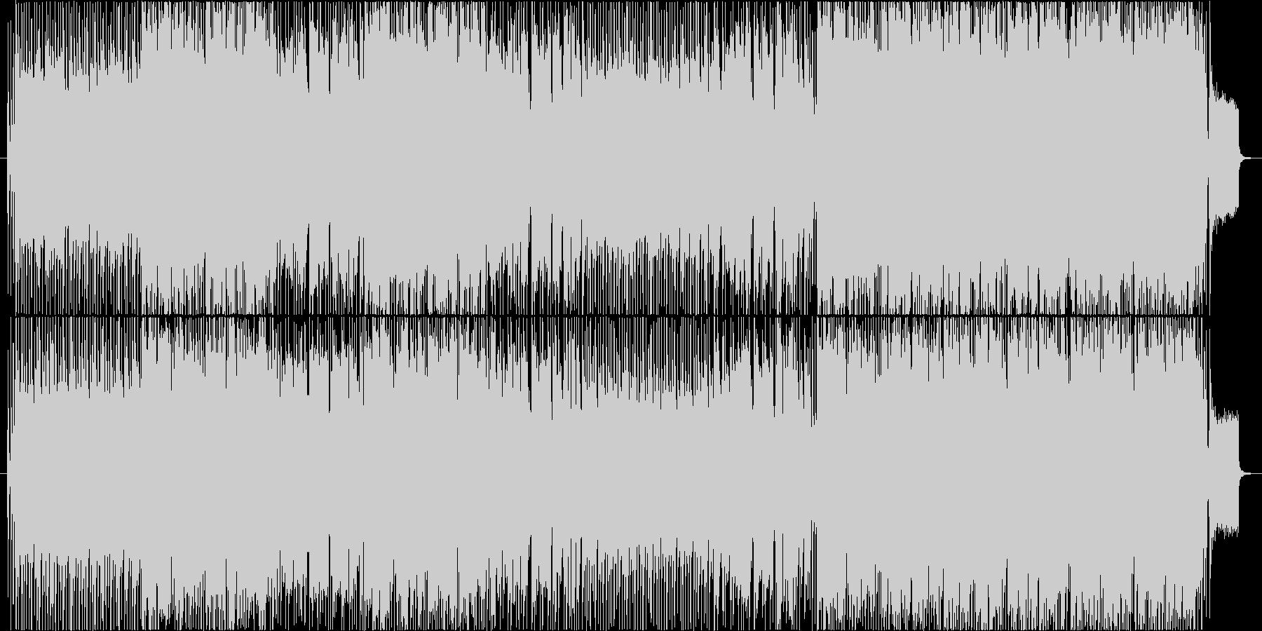 和風でアコーディオンが印象的なPopsの未再生の波形
