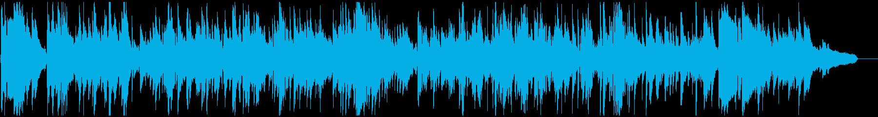 少し下品なエロい音色のセクシーサックスの再生済みの波形
