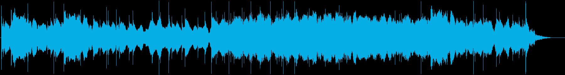 ミステリーの日常曲3(夜っぽい)の再生済みの波形