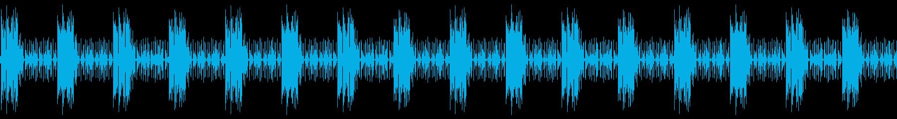 ゲームやクイズ番組に最適な音楽。の再生済みの波形