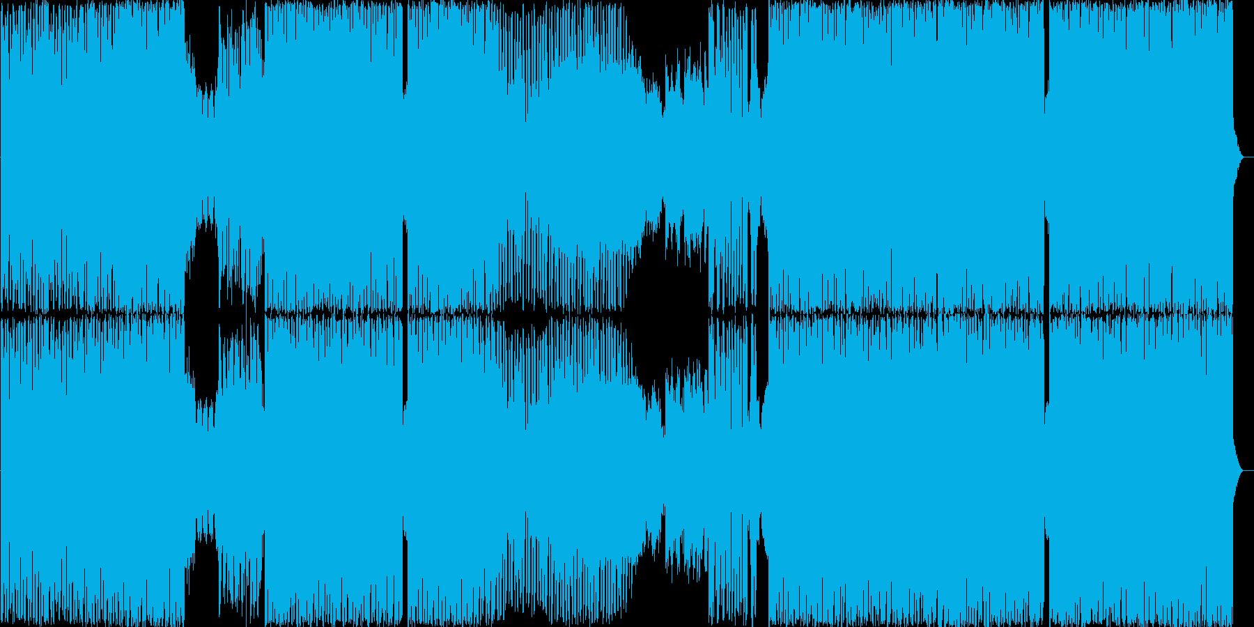 ドラムンベースです。タイトルのNept…の再生済みの波形