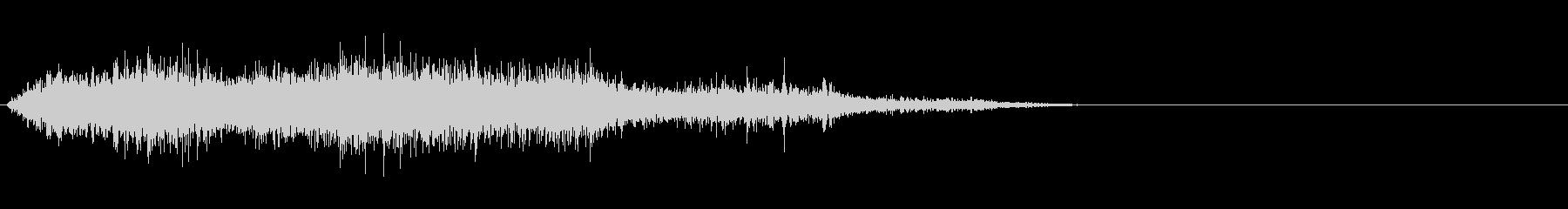 モンスター/獣/ゾンビ等の鳴き声!02Bの未再生の波形