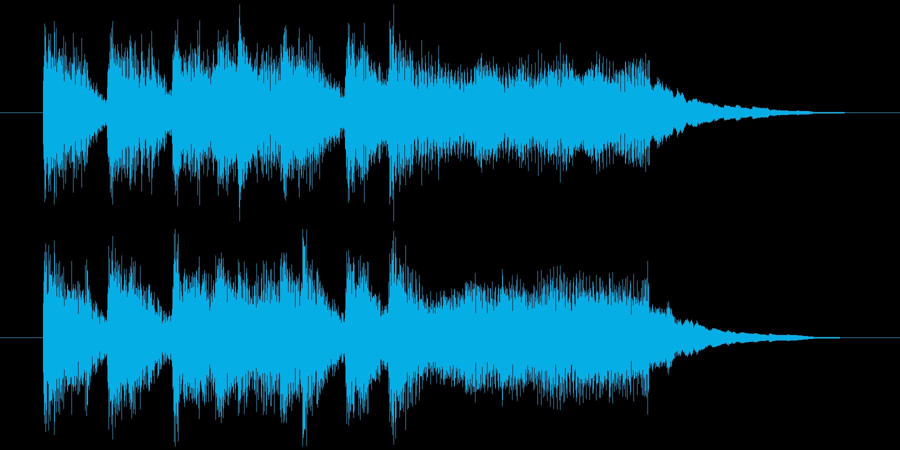 【超シンプル!】ステージクリアの再生済みの波形