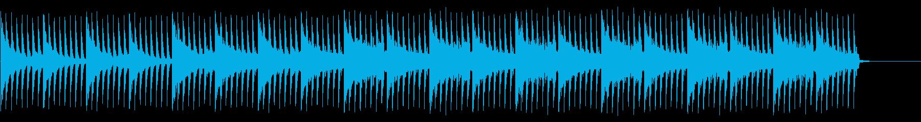 報道番組、ニュース風BGM bの再生済みの波形