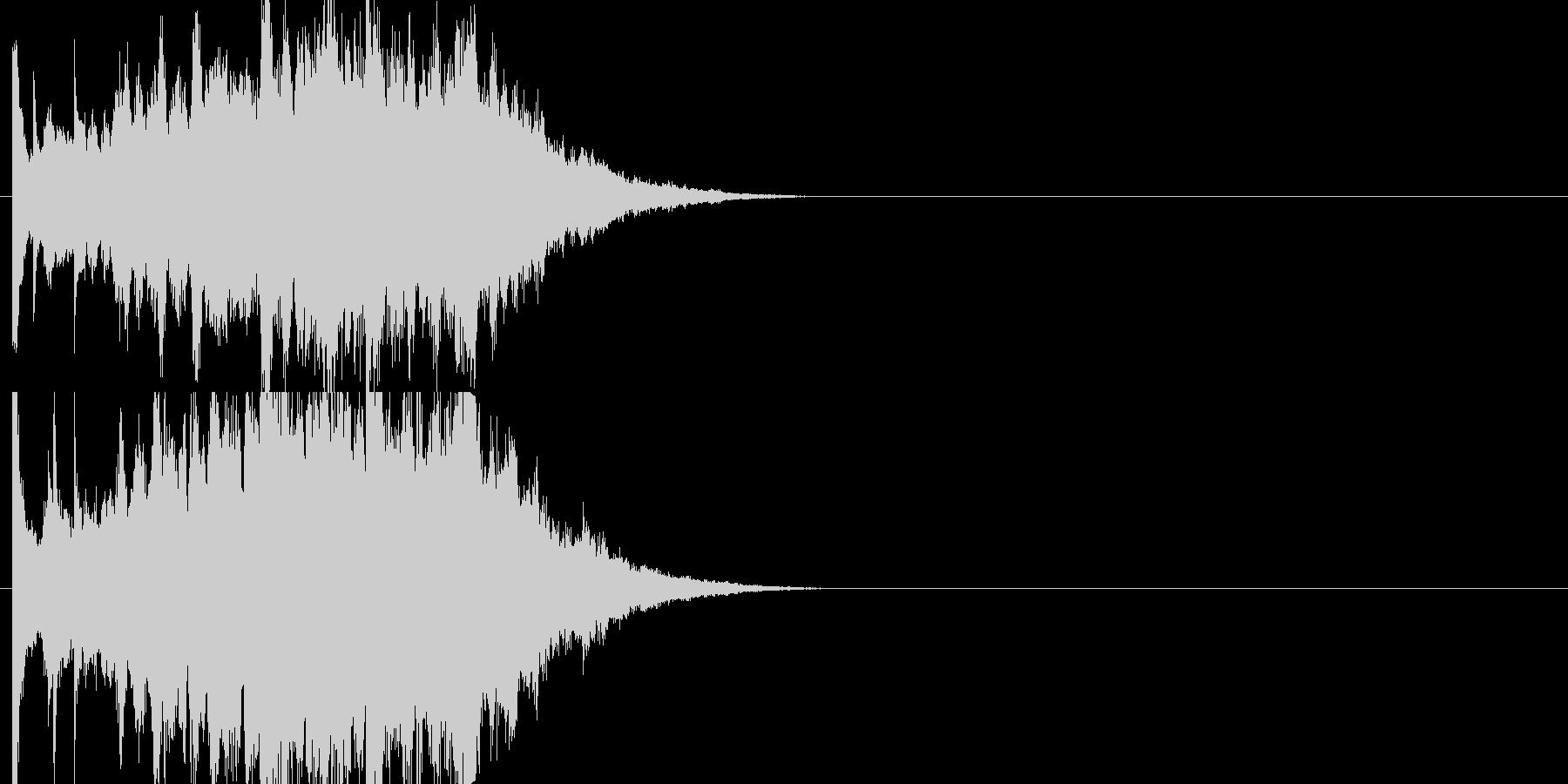 アンビエントジングルの未再生の波形