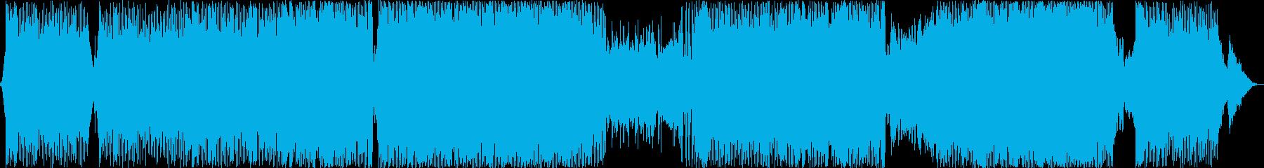 心地よく流れるバイオリンBGM の再生済みの波形