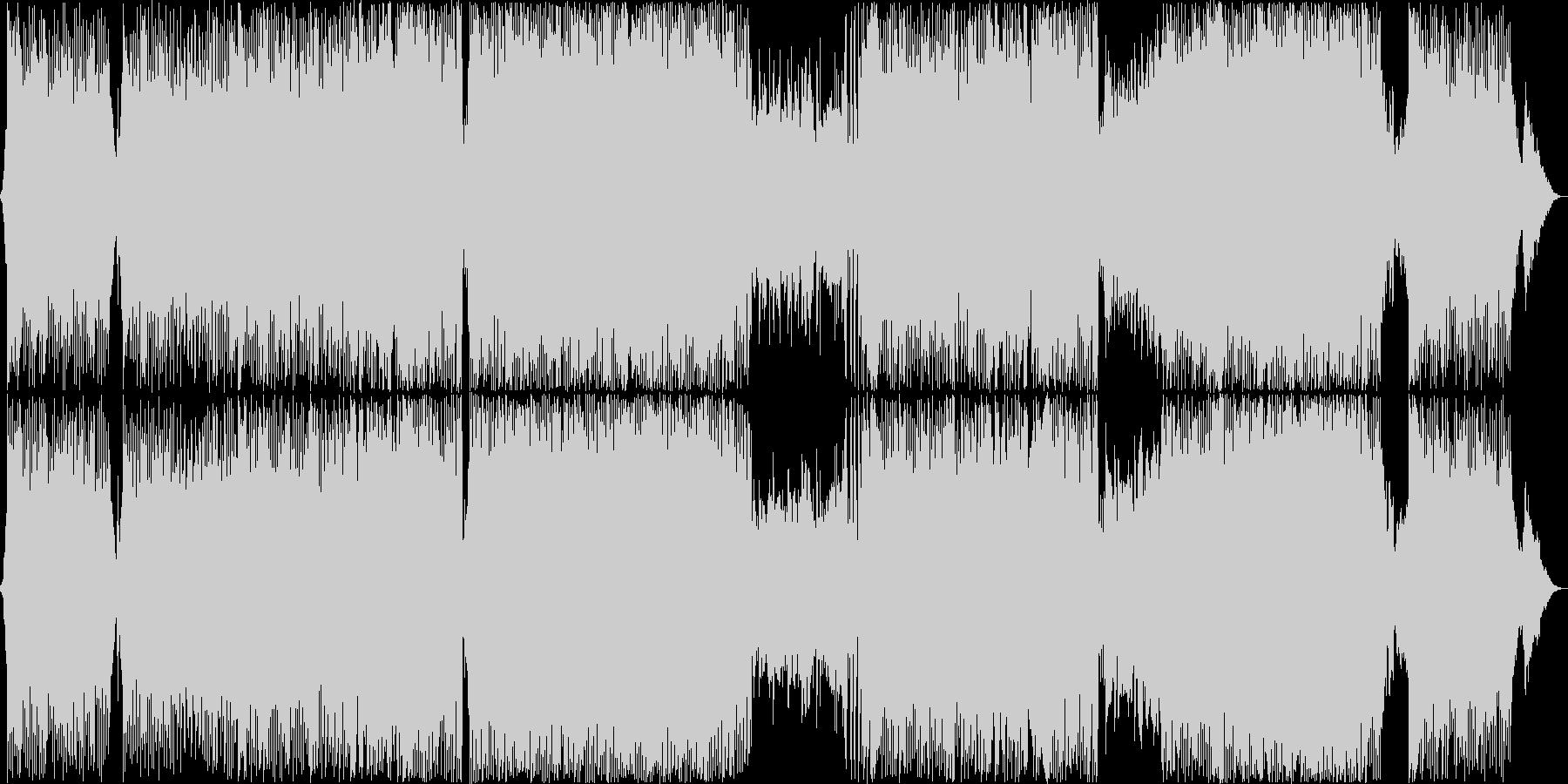 心地よく流れるバイオリンBGM の未再生の波形