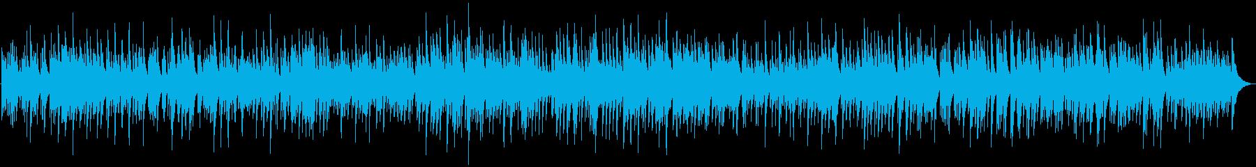 Nostalgic piano solo, calm down's reproduced waveform