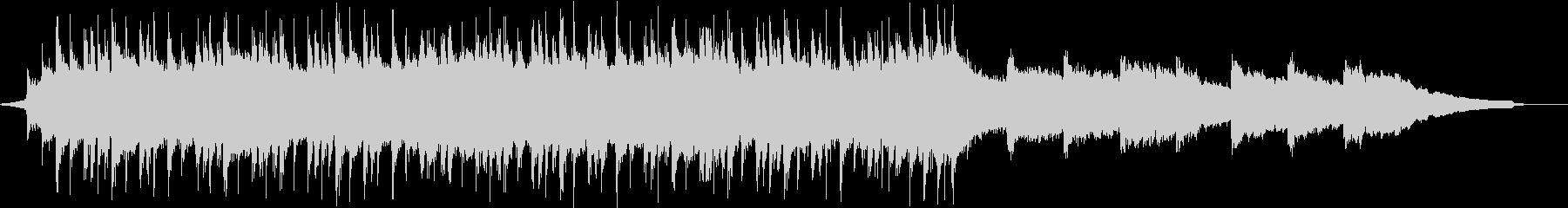 陽気なロックのコーポレートBGM③の未再生の波形