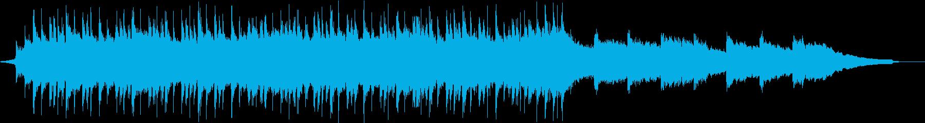 陽気なロックのコーポレートBGM③の再生済みの波形