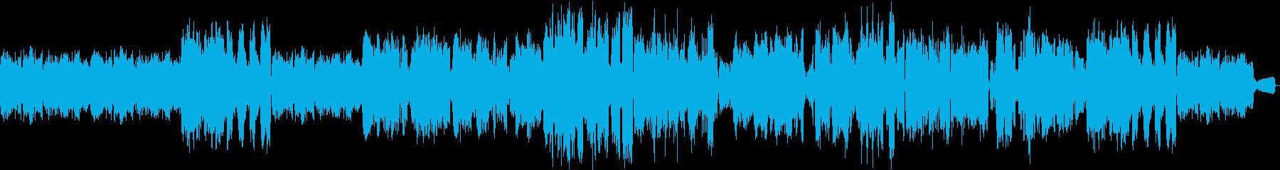 ゆっくりした川の淵の再生済みの波形
