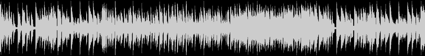 コメディ、ずっこけリコーダー ※ループ版の未再生の波形