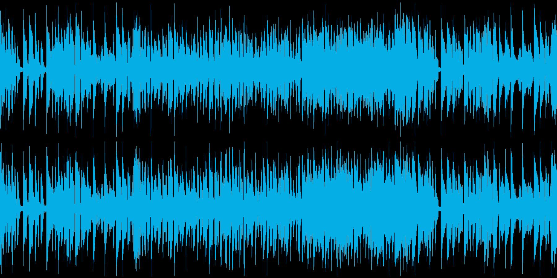 コメディ、ずっこけリコーダー ※ループ版の再生済みの波形