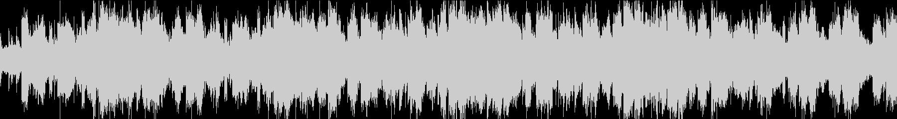 ほのぼのかわいいシンセポップループBGMの未再生の波形