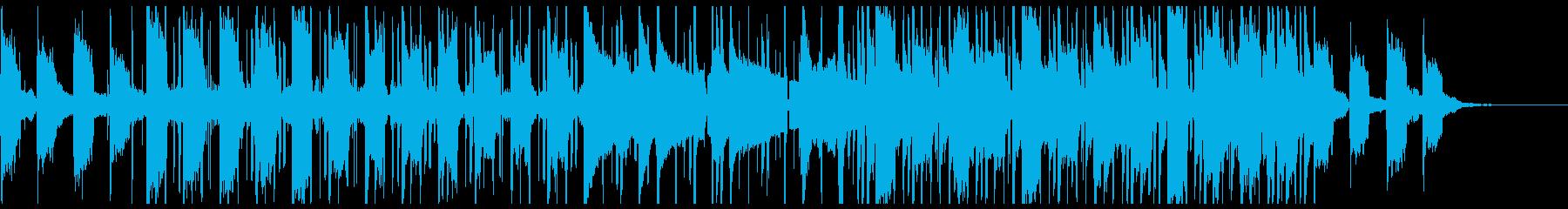 ダークな印象のTrapの再生済みの波形