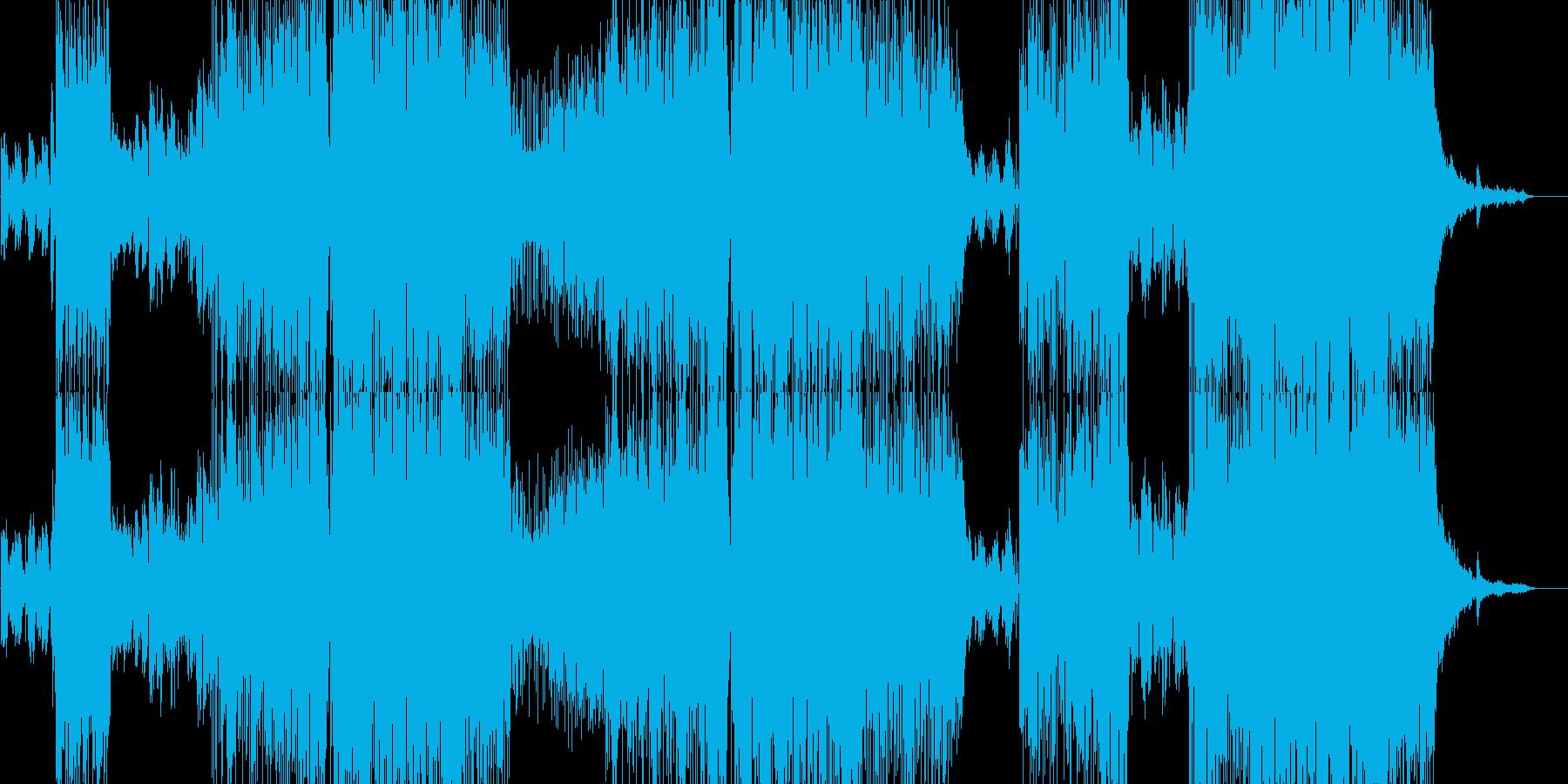 春をイメージした切ないJ-popの再生済みの波形