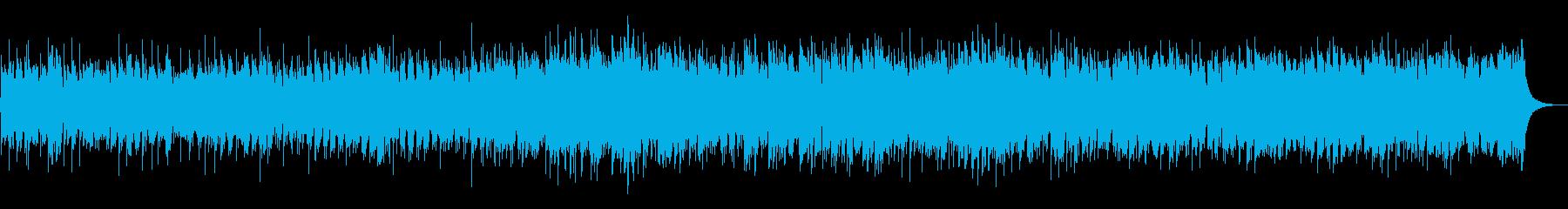 流れるようなスムースジャズバラードの再生済みの波形