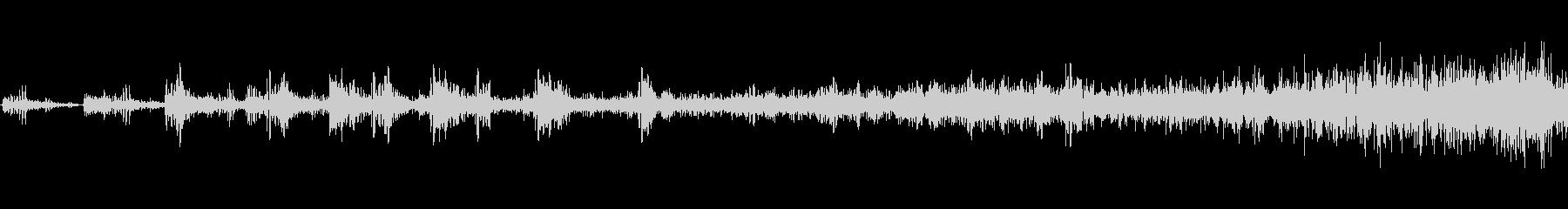 ガラガラの鳴き声、メタルヒット、SFの未再生の波形