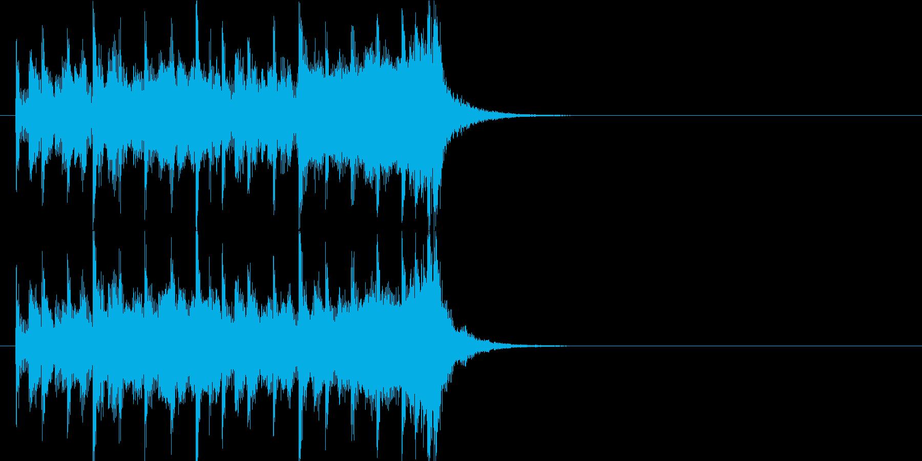 クイズ 発表 アタック 緊張 テーマの再生済みの波形