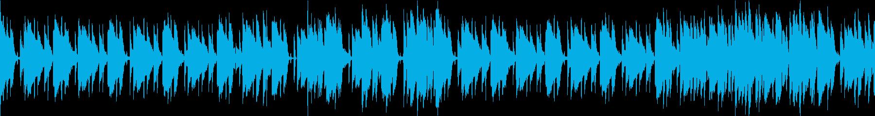 ハードボイルドな暮らしの再生済みの波形