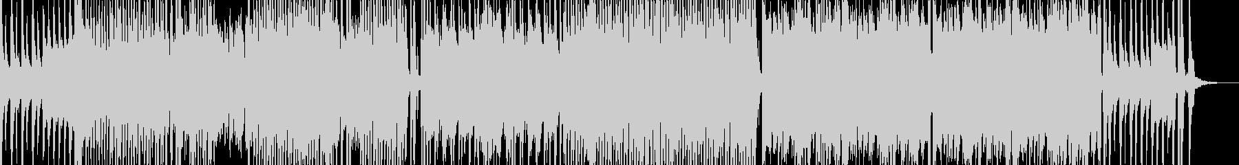 オシャレでポップな弦楽器のBGMの未再生の波形