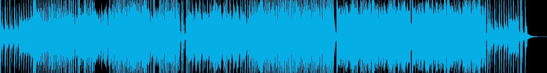 オシャレでポップな弦楽器のBGMの再生済みの波形