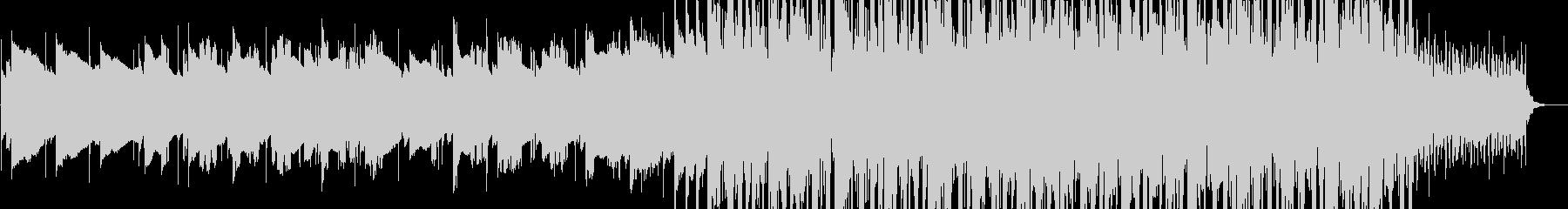 物憂げなLo-Fi Pop風BGMの未再生の波形