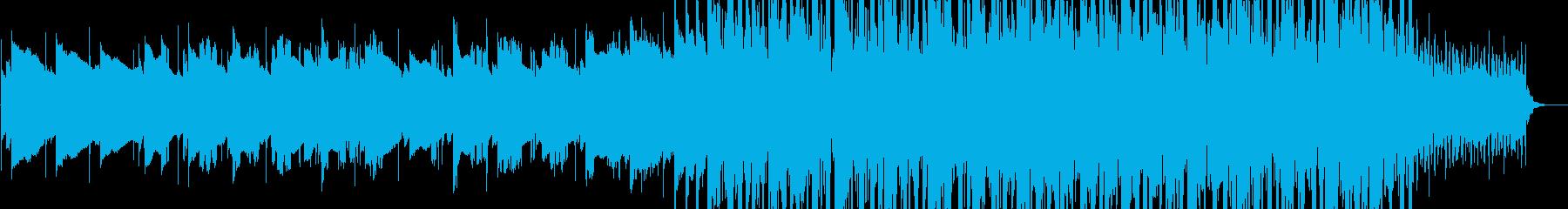 物憂げなLo-Fi Pop風BGMの再生済みの波形