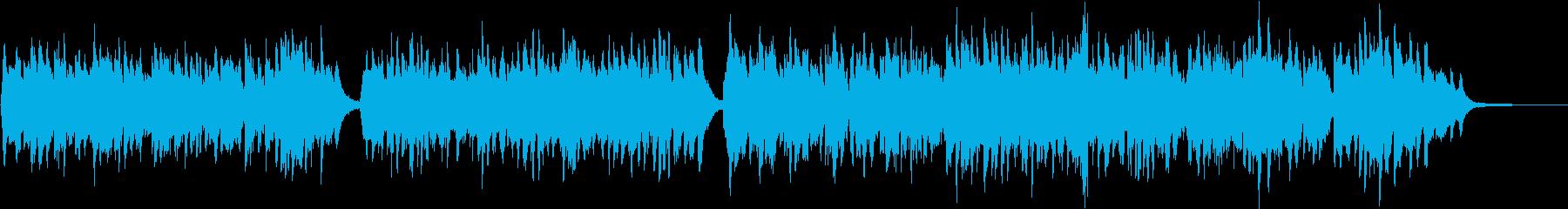 透明感・水の都の南欧系ジャズ※打楽器抜きの再生済みの波形