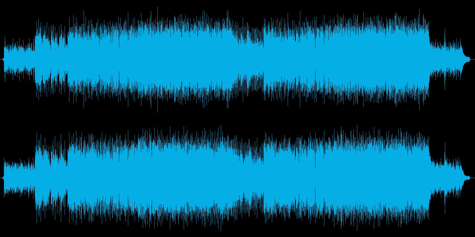 生演奏アコギ!爽やかでカッコイイ、VP系の再生済みの波形