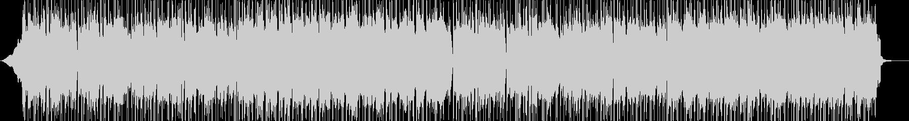 シタールとアコギによる明るく軽快なBGMの未再生の波形
