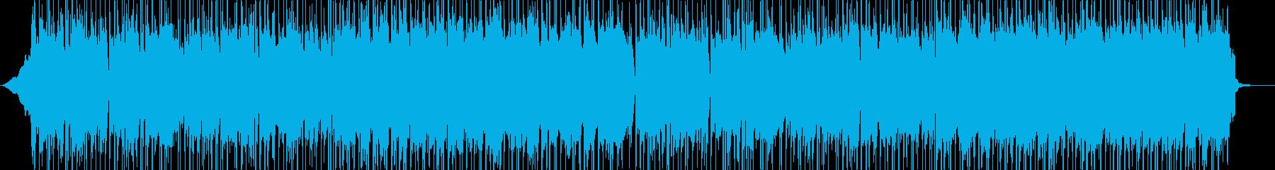 シタールとアコギによる明るく軽快なBGMの再生済みの波形