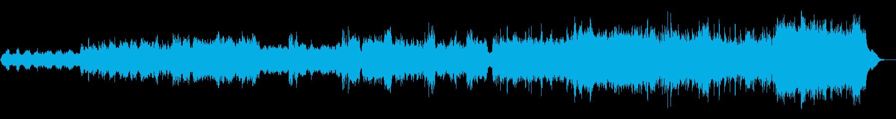 架空の国歌。バック戦士。ヒロイック...の再生済みの波形
