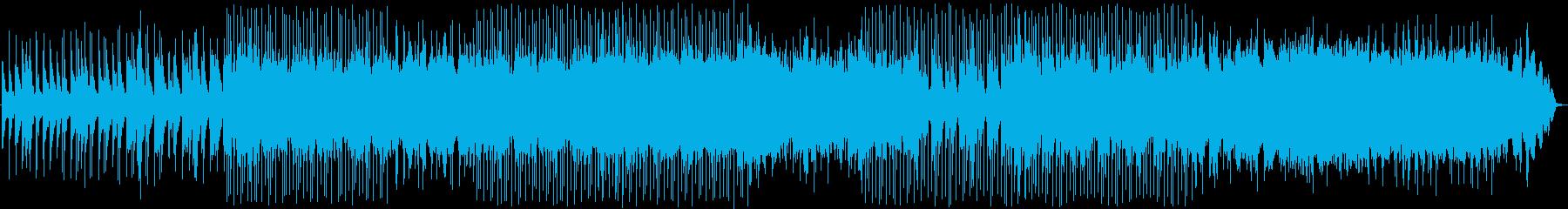 リラックスムードが広がるローファイビートの再生済みの波形