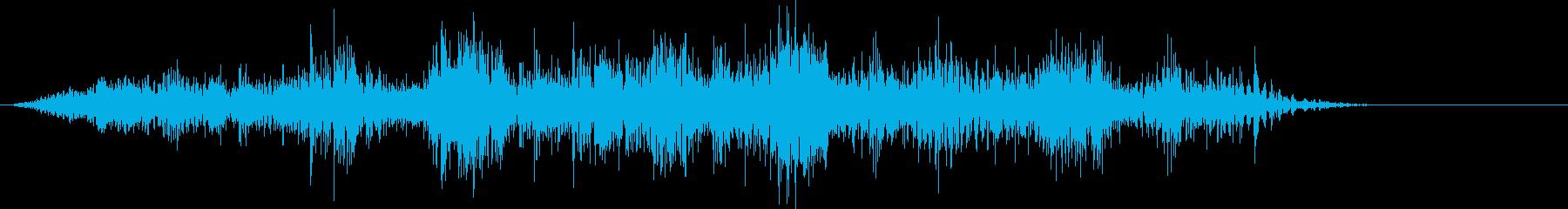 地震の前後の断層の地震応力の再生済みの波形