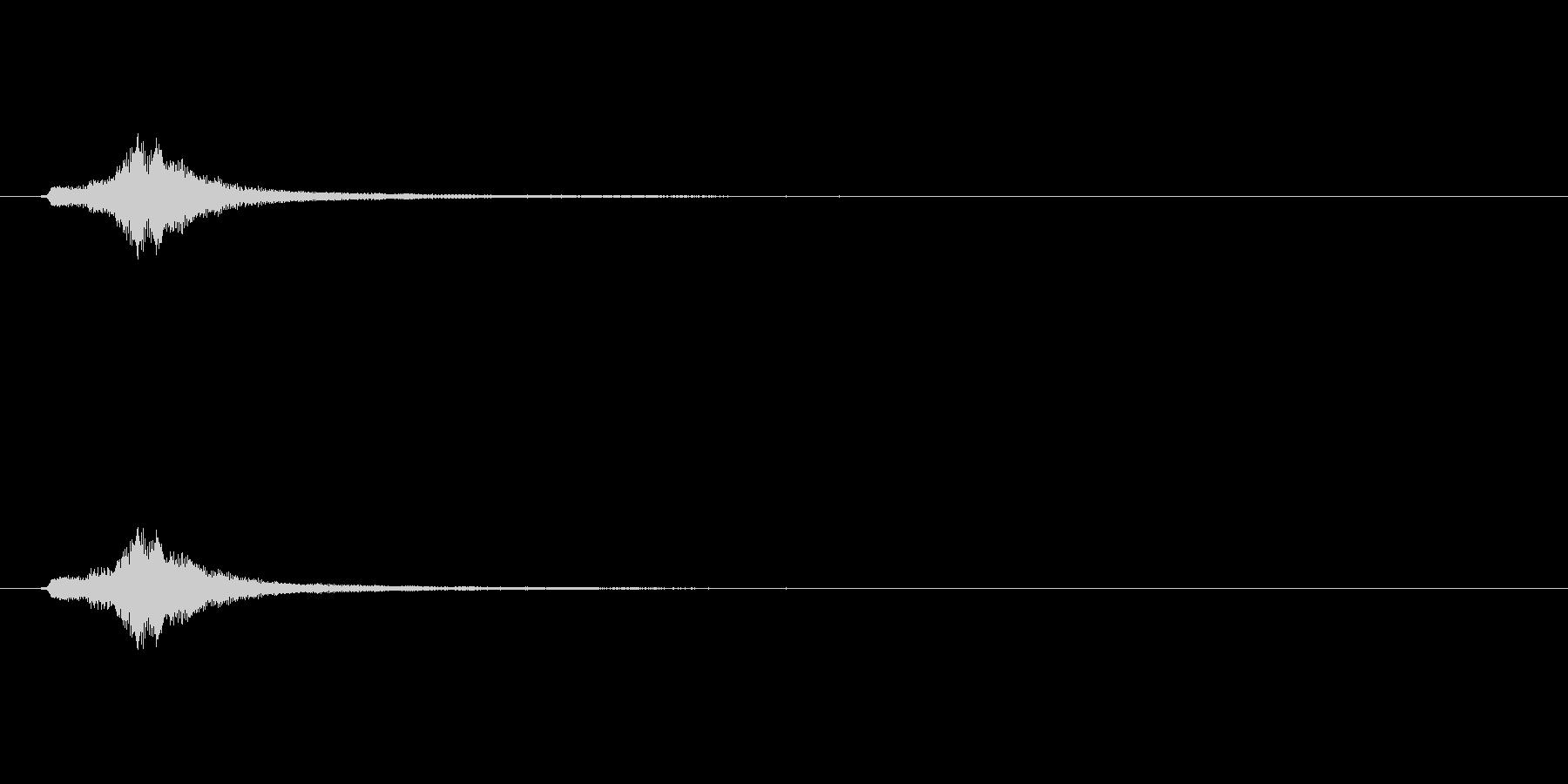 ハープグリッサンド上行1回~A7の未再生の波形