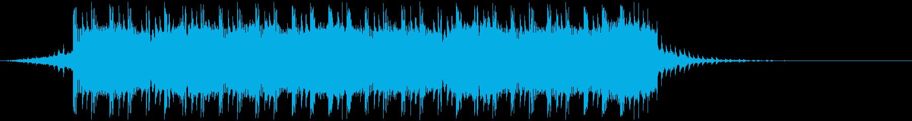 実験的 エーテル スタイリッシュ ...の再生済みの波形