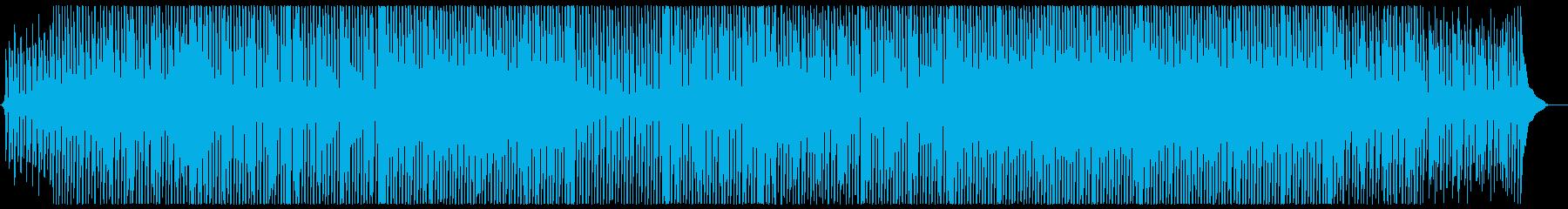アップテンポなコンセプトムービー風の再生済みの波形
