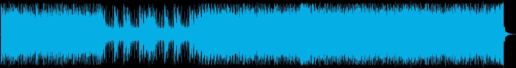 電子/疾走感/ロック_No358_3の再生済みの波形