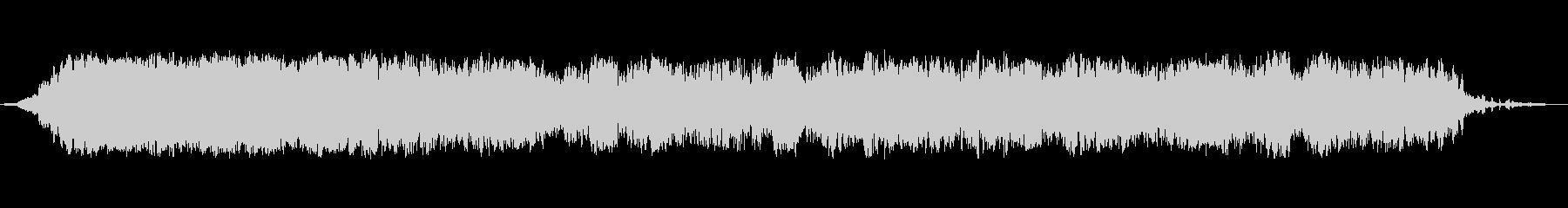 ドリームスケープオペレーターパッドの未再生の波形