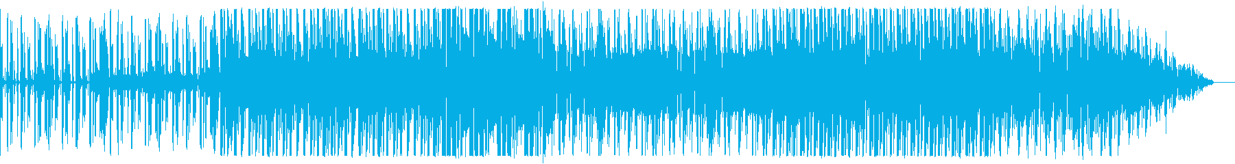 Electro Rock の2の再生済みの波形