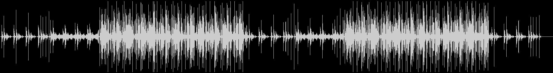 クールダウンなフューチャーベースの未再生の波形