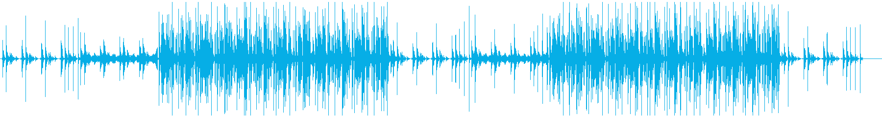 クールダウンなフューチャーベースの再生済みの波形