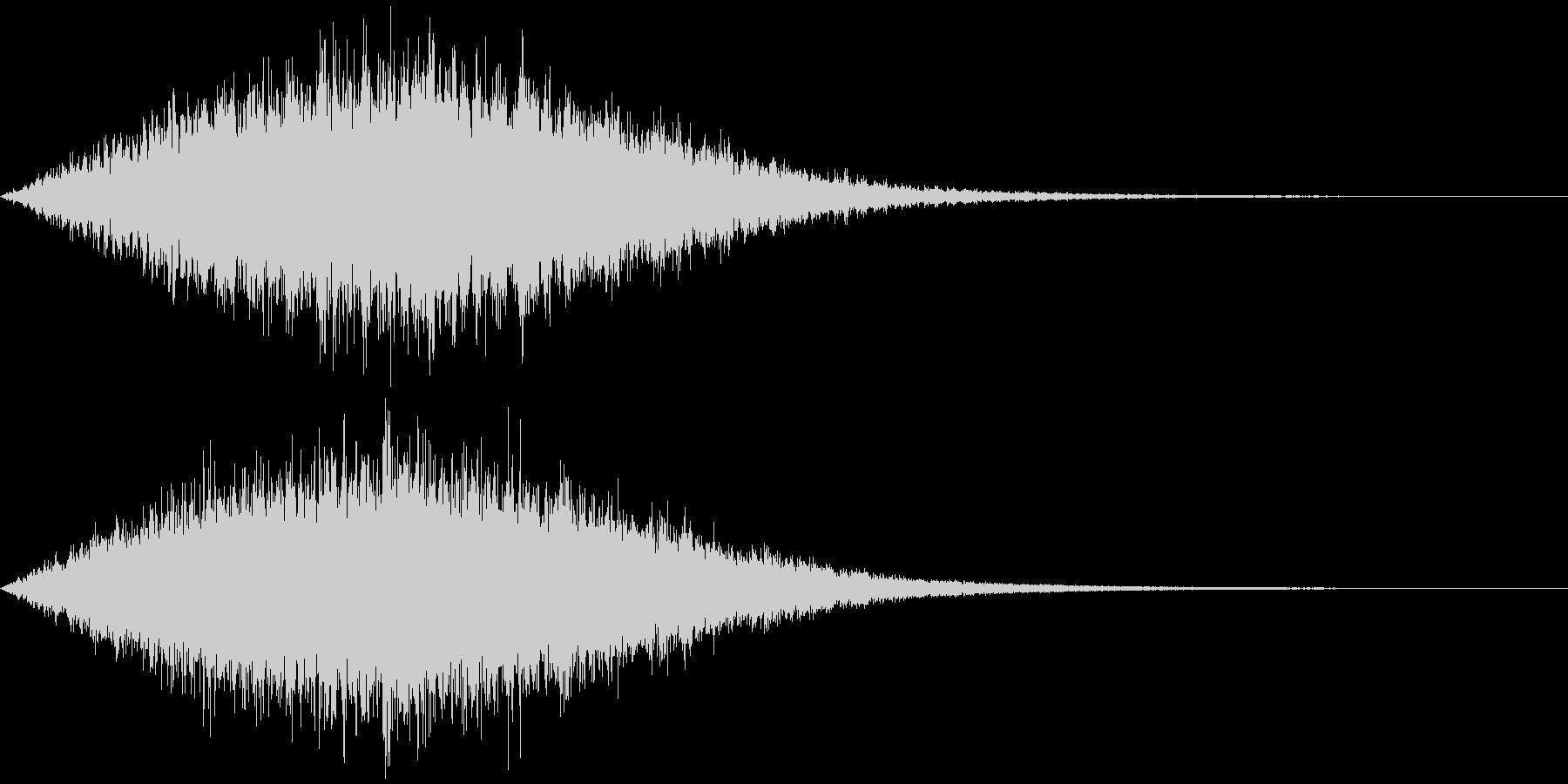 光系の音 魔法など シシャーン+シューンの未再生の波形