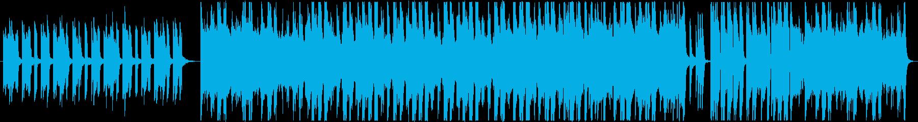 潜入や調査、推理場面をイメージした曲の再生済みの波形