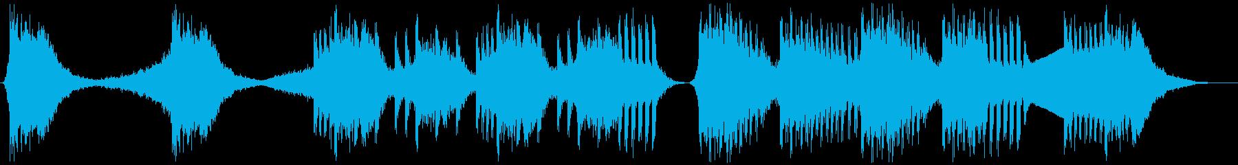 トレーラー・予告編・映画・PVの再生済みの波形