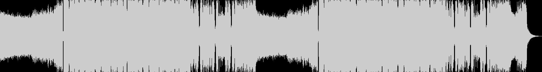 アグレッシブシネマティックヘヴィロックaの未再生の波形