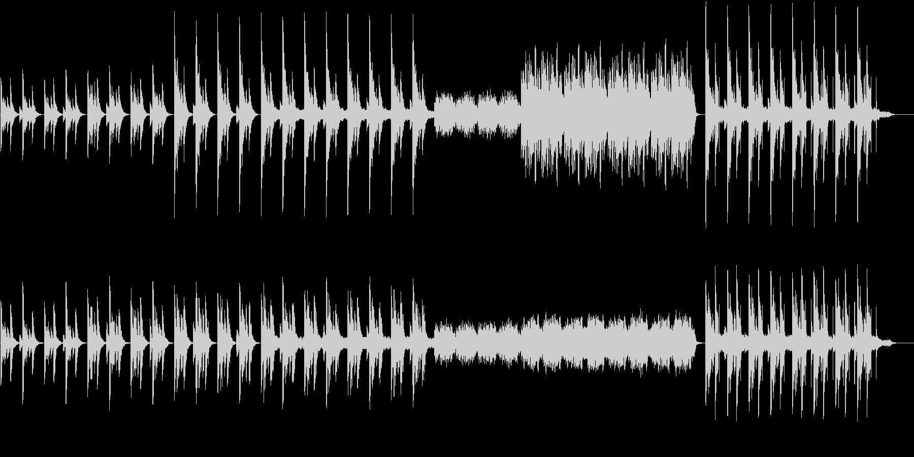 琴の音色でメロディーインストの未再生の波形